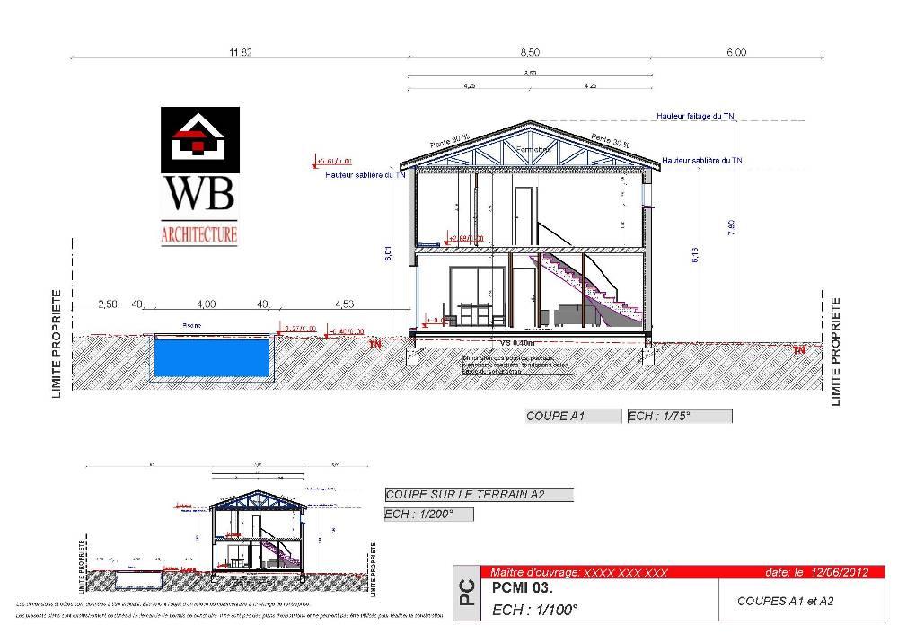 Plan maison permis de construire - Changement de destination permis de construire ...