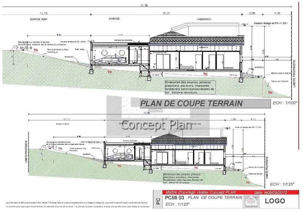 Plan maison permis de construire for Permis de construire architecte obligatoire